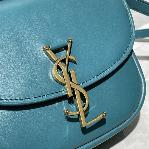 YSL 619740 KAIA SMALL SATCHEL IN SMOOTH LEATHER