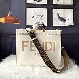 FENDI ROMA SUNSHINE SHOPPER full leather shopping bag