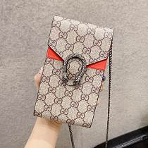 GUCCI INSPIRED PU LEATHER UNIVERSAL PHONE CASE BAG WITH LANYARD FOR IPHONE SAMSUNG HUAWEI JSK040