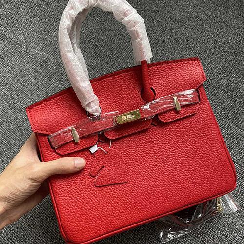 Hermes Birkin Platinum Bag 11.8IN Original Togo Leather (67C8)
