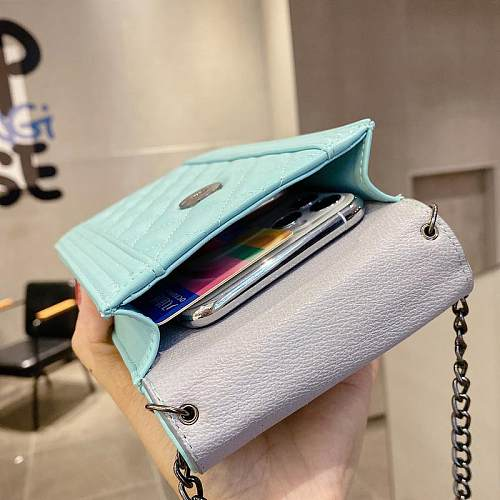 CHANEL INSPIRED PU LEATHER  UNIVERSAL PHONE CASE WITH LANYARD FOR IPHONE SAMSUNG HUAWEI  QLSDB040