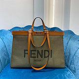 FENDI PEEKABOO X-TOTE LARGE Shopping Bag
