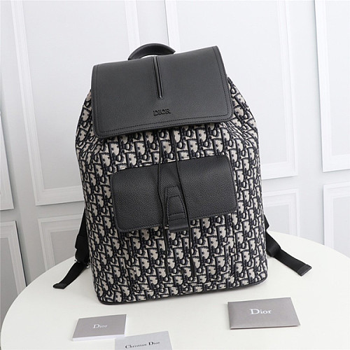 DIOR 1MOBA062YPN OBLIQUE JACQUARD MOTION BACKPACK