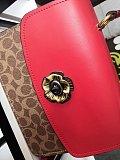 COACH 88202 New Parker Flower Button Square Bag