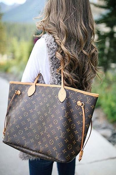 High Quality Imitation Louis Vuitton N41358 Neverfull MM Damier Ebene Canvas bag