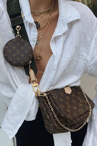 AAA imitates Louis Vuitton M44813 Multi Pochette Accessoires crossbody bag