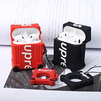 Supreme Style Luggage Silicone Protective Shockproof Case For Apple Airpods 1 & 2