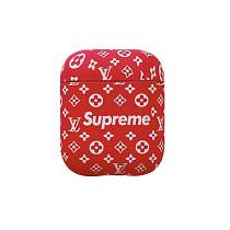 LOUIS VUITTON LV Red SUP ShockProof AirPods Case