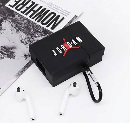 Air Jordan Style Box Silicone Protective Case For Apple Airpods 1 & 2