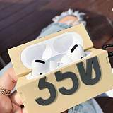 350 Shoe Box Protective Case Silicone Cover Shell with Carabiner for Airpods Pro qyh