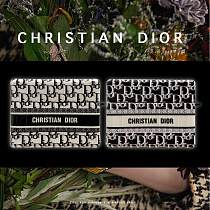 Christian Dior Style Luggage Glossy Square Protective Case For Apple Airpods Pro