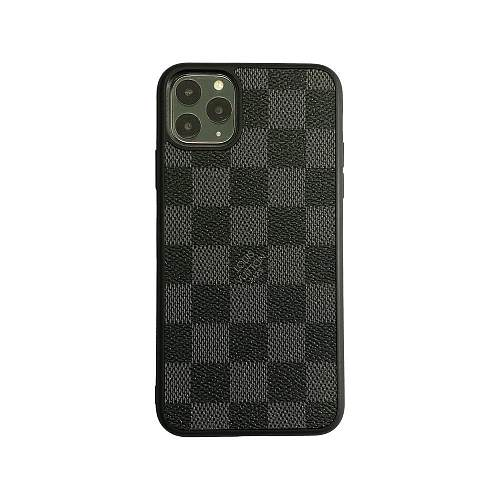 LOUIS VUITTON LV Checkered Full Cover iPhone Case - Black