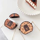 Louis Vuitton Style Silicone Protective Case For Apple Airpods 1 & 2