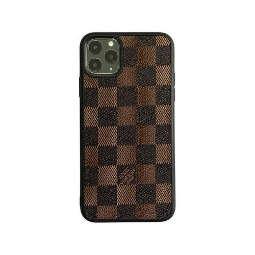 LOUIS VUITTON LV Checkered Full Cover iPhone Case - Brown
