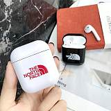 The North Face Style Glossy Hard Protective Shockproof Case For Apple Airpods 1 & 2