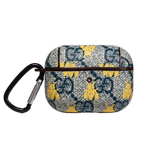 GUCCI  Style Navy Bee Protective Case For Apple Airpods Pro