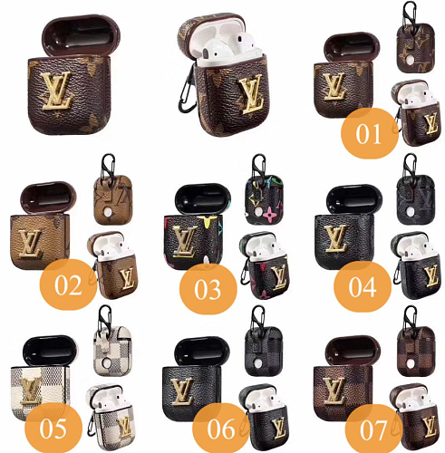 Luxury Paris France Louis Vuitton LV Protective Cover Case For Apple Airpods Pro Airpods 1 2