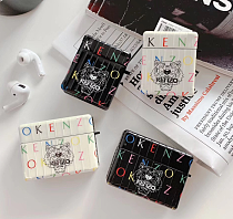 Luxury Paris France KENZO Protective Cover Case For Apple Airpods 1 2 Airpods Pro 3