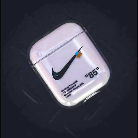 NIKE NW COLLAB STYLE SILICONE SHOCKPROOF AIRPODS CASE