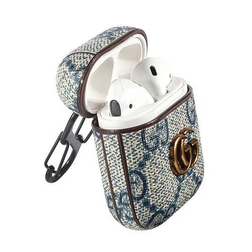 GUCCI LIGHT BLUE SHOCKPROOF AIRPODS CASE