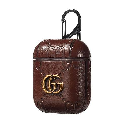 GUCCI LEATHER SHOCKPROOF AIRPODS CASE