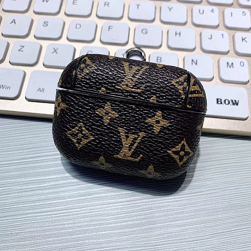 LOUIS VUITTON LV AIRPODS PRO PU LEATHER CASE
