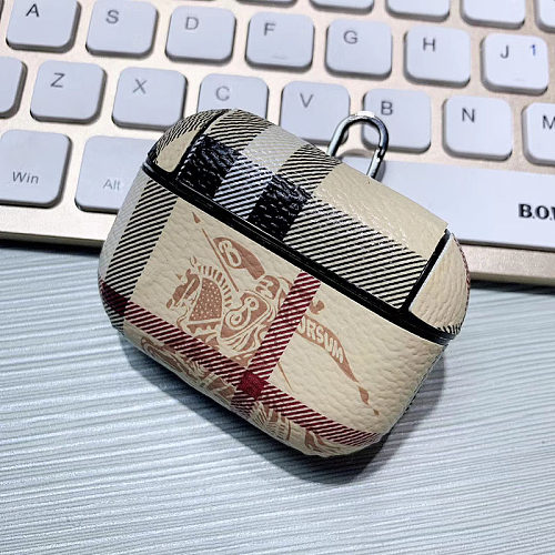 BURBERRY AIRPODS PRO LEATHER CASE