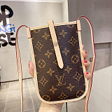 GUCCI INSPIRED LEATHER UNIVERSAL PHONE CASE BAG WITH LANYARD FOR IPHONE SAMSUNG HUAWEI