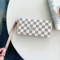 LOUIS VUITTON LV CROSS BODY LEATHER WALLET UNIVERSAL PHONE CASE FOR IPHONE SAMSUNG HUAWEI WITH LANYARD