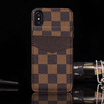 LOUIS VUITTON LV LEATHER FOLDED WALLET PHONE CASE FOR IPHONE 11 PRO MAX XS MAX XR XS 7 8 PLUS SE2 WITH CARD SLOT