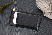 GUCCI ZIPPER LEATHER WALLET UNIVERSAL PHONE CASE FOR IPHONE SAMSUNG HUAWEI WITH CARD SLOT