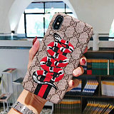 GUCCI EMBROIDERY PHONE CASE IPHONE MODELS