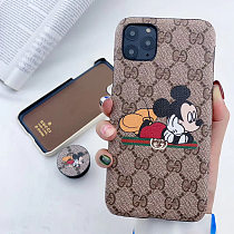 GUCCI PHONE CASE WITH POP SOCKET IPHONE MODELS