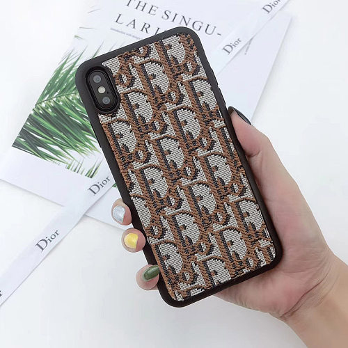 DIOR Embroidery PHONE CASE IPHONE MODELS