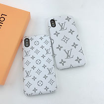 LOUIS VUITTON LV IPHONE CASE COVER 12 11 PRO MAX XS MAX XR 7 8 PLUS PINK GREEN BLACK BLUE RED003