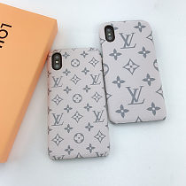 LOUIS VUITTON LV IPHONE CASE COVER 12 11 PRO MAX XS MAX XR 7 8 PLUS PINK GREEN BLACK BLUE RED002