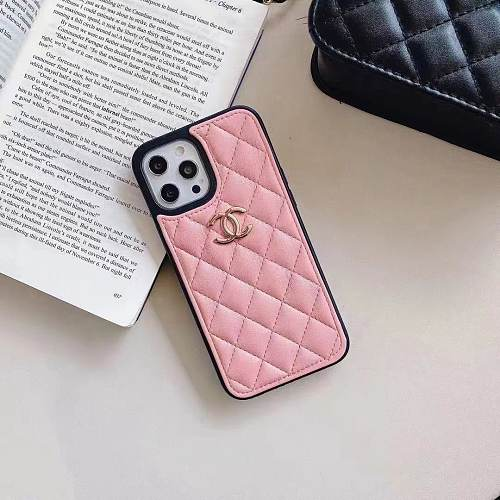 CHANEL CC Designers Phone Case for iPhone 7 8 PLUS XS MAX XR 11 12 PRO MAX PINK BLACK RED WHITE