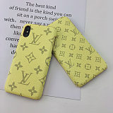 LOUIS VUITTON LV IPHONE CASE COVER 12 11 PRO MAX XS MAX XR 7 8 PLUS PINK GREEN BLACK BLUE RED007