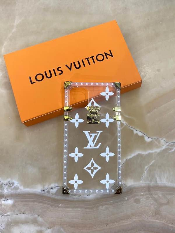 Louis Vuitton Phone Case Clear Soft for iphone 7 8 plus XS XR MAX 11 12 PRO MAX