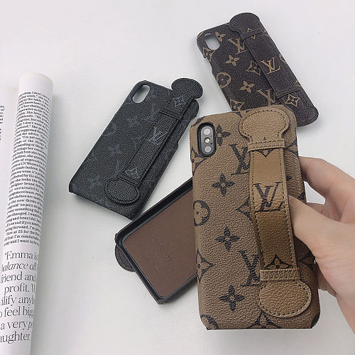 Customized Monogram Phone case LV iPhone 11 Case Cover XR 12 Pro Max XS Max 7 8 Plus Black Blue Green Red White