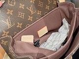 Louis Vuitton Pochette Metis Shoulder Bag M40780 Brown