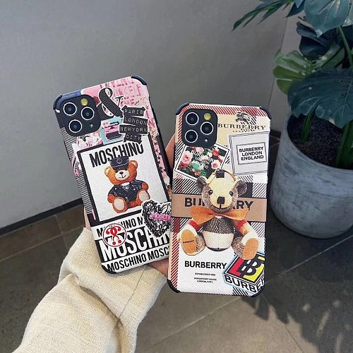 Cute Brands Fashion Designers Phone Cases For iPhone 11 12 Pro XS Max XR 7+ 8+ Plus Funny Patterns