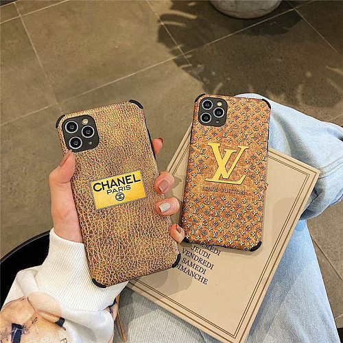 Multi Brands Pattern Fashion Designers Phone Cases For iPhone 11 12 Pro XS Max XR 7+ 8+ Plus