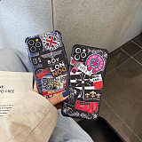 Boy Brands Fashion Designers Phone Cases For iPhone 11 12 Pro XS Max XR 7+ 8+ Plus Funny Patterns