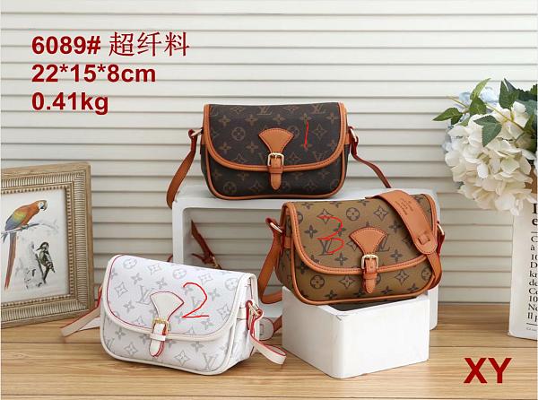 Cheap LV Purse Bag 6089-53 Multi Colors Without Box