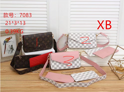 Cheap LV Purse Bag 7083-50 Multi Colors Without Box