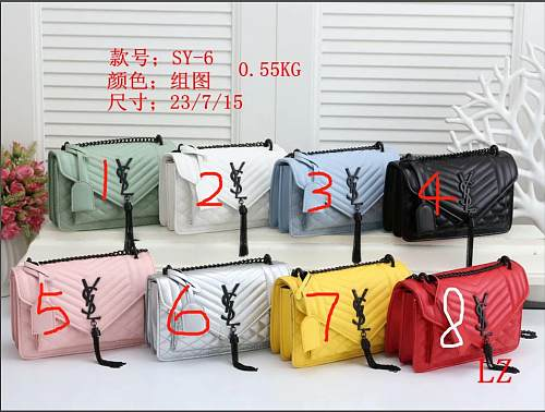 Cheap YSL Purse Hand Bag SY-6-55 Multi Colors Without Box