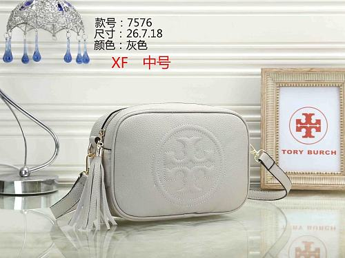 Cheap TORY BURCH Purse Bag 12-43 Multi Colors Without Box