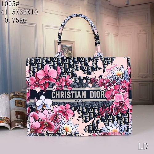 Cheap Dior Purse Shopping Bag 1005#80 Multi Colors Without Box