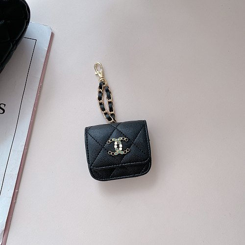 CC Soft Leather Universal AirPods Case 1/2 Or Pro